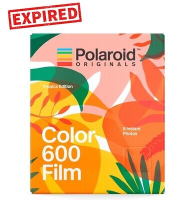EXPIRED- Polaroid Originals TROPICS EDITION Color instant film F 600 OneStep US!