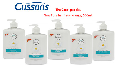 Cussons Pure Cleansing Antibacterial Hand Wash Soap - Camomile- 12 x 500ml