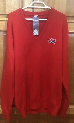 Vintage WEST END BEER PURE WOOL UNUSED PULLOVER SIZE XXXL
