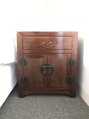 Antique Chinese VINTAGE Bedside Tables ! To Be Sold As A Pair