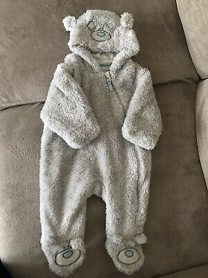 d9559022cf777 Unisex Tatty Teddy Marks And Spencers Pramsuit/snowsuit 0-3 Month New With  Tags