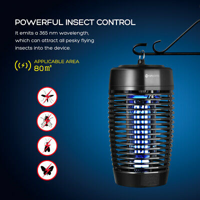 3W/11W/18W Electric UV Insect Killer Mosquito Fly Pest Bug Zapper Catch LED Lamp