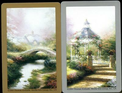 Beautiful Thomas Kinkade Swap Cards  In The Spring New Condition
