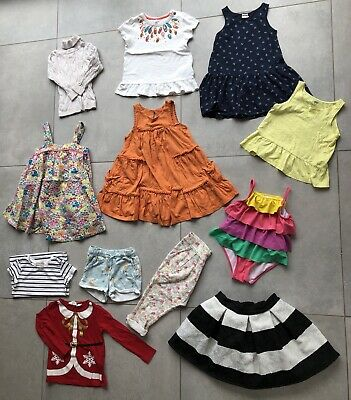 Bundle Of Toddler Girls Summer Clothes Next H&M Mothercare 1.5 - 2 Yrs 18-24 Mth