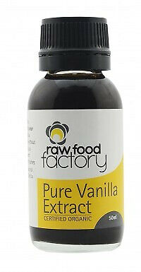 Raw Food Factory Pure Vanilla Extract Organic 50ml