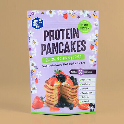 The Protein Bread Co Plant Protein Pancakes 300g