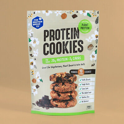 The Protein Bread Co Plant Protein Cookies 350g