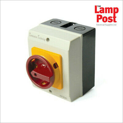 Rotary Isolator 4 Pole 20A 32A 40A 63A 100A IP65 Waterproof Safety Switch