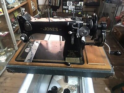 Vintage Jones Hand Crank Sewing Machine