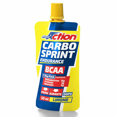 PROACTION CARBO SPRINT BCAA 50 ML Limone