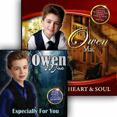 Owen Mac - Especially For You & Heart And Soul 2CD Set