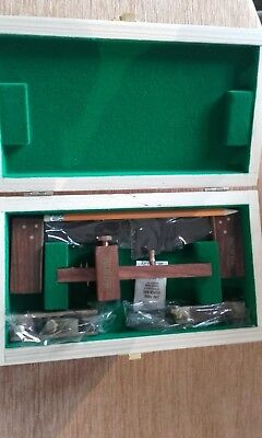 5 piece Mini Faithfull Quality Tools Wooden Carpenter Box 24x13x5cm + Pencil