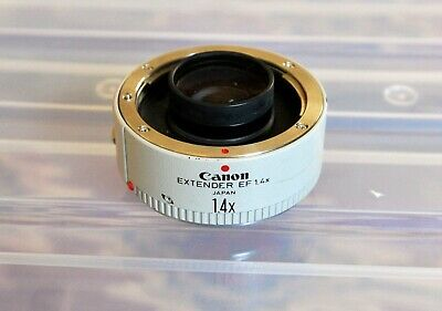 Canon Extender EF 1.4x Teleconverter Lens AS-IS -IMPOSSIBLE TO FIND IN US.