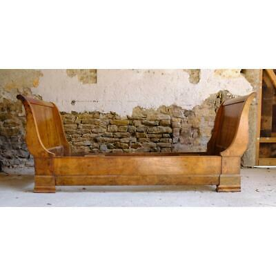 Antique French Walnut Sofa, Daybed, Child's Bed, 19Th Century, Original