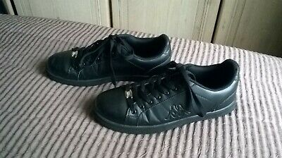 7d0575c9f3 KAPPA MARESAS 2 Mens Black Lace Up Trainers Shoes UK 7 EU 41 (26.3 CM