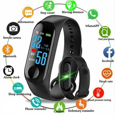 Fit Sport Smarband Fitness iOS Android Smartwatch Orologio Notifiche M3