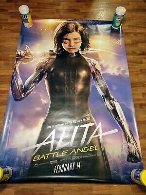 Movie Alita Battle Angel Acrylic Model Stand Figure Toy Desk Decor Cosplay Toy