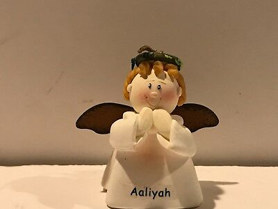 LIL ANGEL ORNAMENTS By Russ Berrie Set Of 6 New With Tags