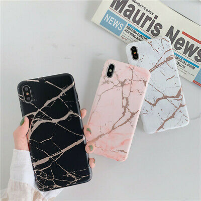 Glossy Shiny Marble Iridescent Holographic Holo Soft Silicone Phone Case Cover