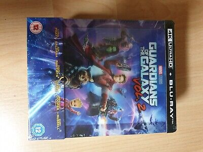 Steelbook blu-ray neuf Guardians of the Galaxy 2 sous blister  édition Zavvi