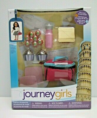 """Journey Girls Doll Fashion Accessories For 18"""" Dolls Picnic Set Brand New"""