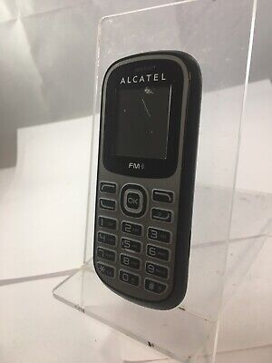 Incomplete Alcatel One Touch 228 Unlocked Black and Grey Mobile Phone