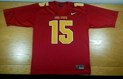 cheaper bceb4 47794 IOWA STATE CYCLONES Vintage NIKE Team Replica Football Jersey M Men's Medium