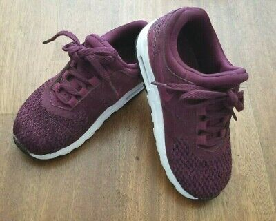 a7512ed002 Nike Air Max Zero SE (Toddler Girl's Size 10C) Athletic Sneaker Shoes Maroon