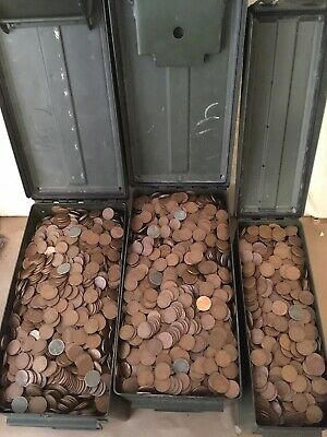 Old Estate Found Lot of 200++ Unsearched Wheat Pennies