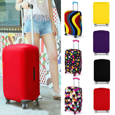 airport Luggage Cover Protector Elastic Suitcase Dust-Proof Scratch-Resistant