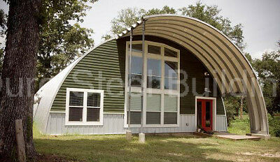 STEEL QUONSET METAL building materials arches, NO RESERVE 42