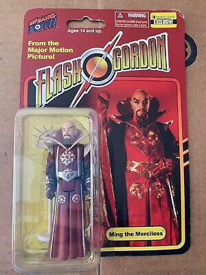 Flash Gordon Ming in Red Robe 3 3//4-Inch Action Figure Entertainment Earth Exc