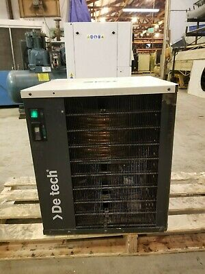 Used Deltech  50-Cfm Refrigerated Air Dryer 110 Volt*
