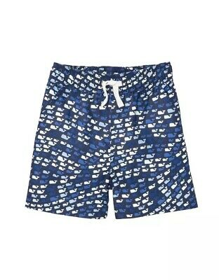 bbd188c4be Vineyard Vines for Target Toddler Boys School of Whales Swim Trunks Size 2T