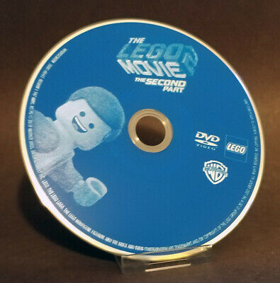 The Lego Movie 2: The Second Part (DVD, 2019)