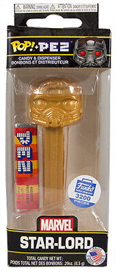 Funko Pop! Pez Marvel Gold Star-Lord Limited Edition Mib Funko Shop Exclusive