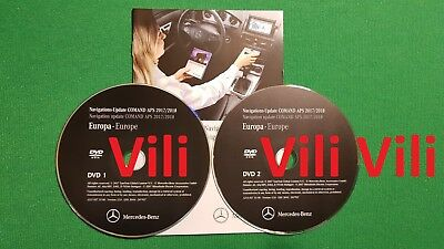 2018 Mercedes-Benz DVD Comand Aps Europe NTG4-212 E-Klasse W212 LAST ACTUAL MAPS