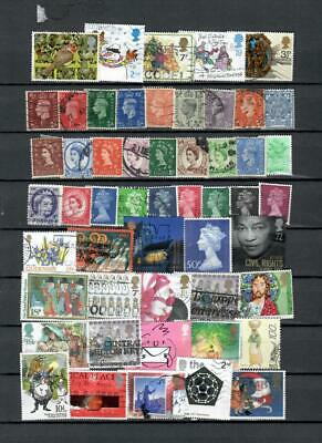 British - Uk Collection Of Used Modern Commemorative  Stamp  Lot (Gb 432)