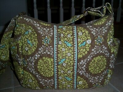 Vera Bradley Sittin' In A Tree On The Go Crossbody Purse Bag