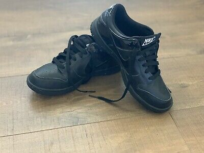 more photos 4d744 74a92 Nike Dunk Golf Shoes Black size 6 Youth Boys