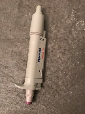 Nice Eppendorf Research 5000 Pipette Pipetman Pipettor Volume Variable 0.5-5ml