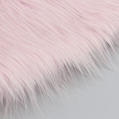 Faux Fur Plush Clothing Plush Fabric Sewing Home Room Sofa Decor 50x80cm
