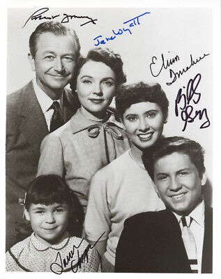 Father Knows Best Tv Cast - Autographed Signed Photograph With Co-Signers