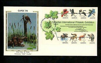 US FDC #1757 Colorano 1978 Toronto ON Canada CAPEX North American Wildlife