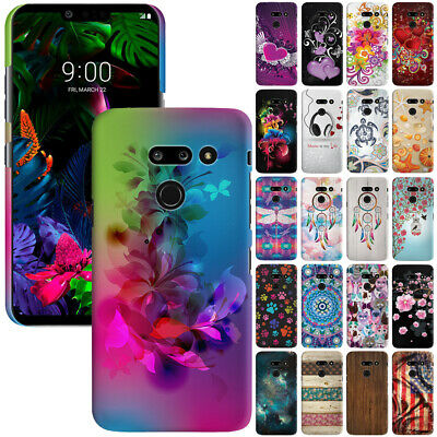 For LG G8 ThinQ G820 6.1 inch Design Protector Hard Back Case Cover Skin