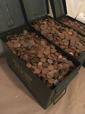 Old Estate Found Lot of 100++ Unsearched Wheat Pennies