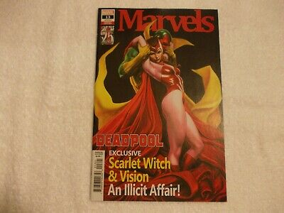Deadpool 13 2019 Limited Beautiful Adi Granov Cover Scarlet Witch & Vision 2 3