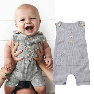 Newborn Infant Baby Girl Boy Clothes Romper Jumpsuit Bodysuit Outfits Overalls