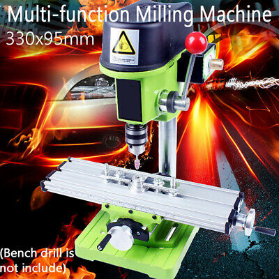 X Y Axis Cross Sliding Milling Compound Mini Working Table Bench Drill Vise DIY