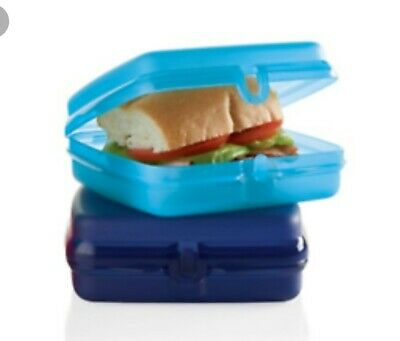 Two Tupperware Sandwich Keepers Brand New